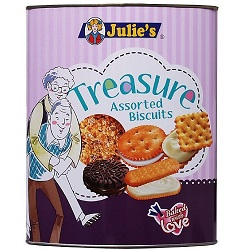 JULIE'S Treasure Assorted Biscuits 530g