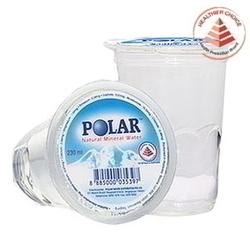 POLAR Spring Water (Cup) - 230ml x 48's