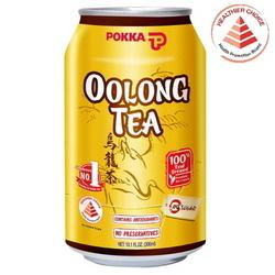 POKKA Oolong Tea - 300ml x 24 Cans