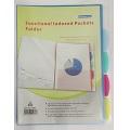 BINDERMAX Index Pocket Holder (Ass. Colour)