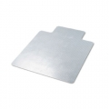 "Clear Vinyl Chairmat with gripper 45""x53"""