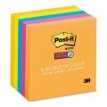3M Post-it S. Sticky Note 654-5SS 3''x3'', Jewel (5 Pad)