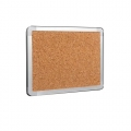 Cork Board with Aluminium Frame, 4' x 6'
