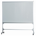 Magnetic Whiteboard w/Roller, 2-Sided 8' x 4'