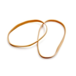 Thick Rubber Band, 1lb 6mm (Amber)