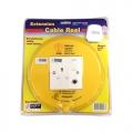 Cable Reel 6M 1 Socket CK2001
