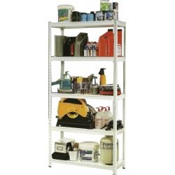 Boltless Steel Rack w/5 shelves 1220X610