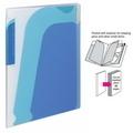 KOKUYO NOVITA Zip 4-Pocket Book, A4 (Blu)