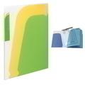 Kokuyo Novita Pocket Book A4 8P L/Grn