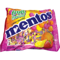 MENTOS Sweets - Fruit Flavour Assorted 891g