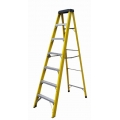 FUJIPLUS 7' FIBERGLASS STEP LADDER