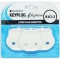 SOUNDTEOH 2-Pin Plug Adaptor KA3-2, 3's