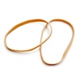 Thick Rubber Band, 1lb 8mm (Amber)