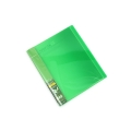 Kokuyo Novita Alpha Clear Book A4 24P L/Green