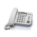 PANASONIC KX-TS560NDW CID DECT PHONE WHI