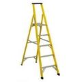 FUJIPLUS Fiberglass Platform 5-Step Ladder FP-05A
