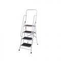 FUJIPLUS Foldable 4-Step Ladder with Handrail L-624HR