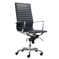 High Back Conference Chair 8801 PU Blk