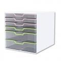 KAPAMAX Crystal Cabinet K15106, 2+4 Drawer
