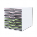 KAPAMAX Crystal Cabinet K15108,  8 Drawer