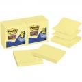 3M S. Sticky Pop-up Notes R330-12SS 3''x3'' (12 Pad, Yel)