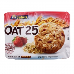 JULIE'S OAT 25 - Stawberry (Pack of 8)