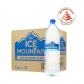 ICE MOUNTAIN Pure Drinking Water, 1.5L x 12's
