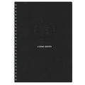 AZONE Uno Ringfix Notebook, A4 (Black)