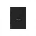 AZONE Uno Ringfix Notebook AUB5RB B5 (Black)