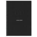 AZONE Uno Ringfix Notebook, A6 (Black)