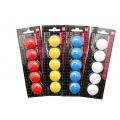OSK Magnet Button, 30mm 5's (Red)