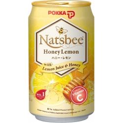 POKKA Natsbee  Honey Lemon Tea - 300ml x 24 Cans