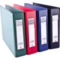"""POPULAR PVC Voucher File 206, 1.5""""A5 (Blk)"""