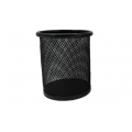 PU METAL ROUND PEN HOLDER DS-004 BLACK