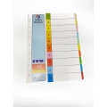 ITO PAPER INDEX DIVIDER 10 COLOUR 5'S