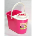 Mop Pail with Semi Mop Cover & Wheel LN-7007