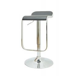 Bar stool 172  Height Adj PU Leather
