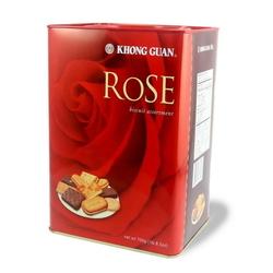 KHONG GUAN Rose Assorted Biscuits - Tin 700g