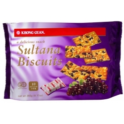 KHONG GUAN Sultana Biscuits (Pack of 10)