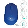 LOGITECH Silent Wireless Mouse M331 (Blue)