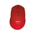 LOGITECH Silent Wireless Mouse M331 (Red)
