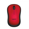 LOGITECH Silent Wireless Mouse M221 (Red)