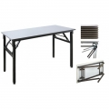 Foldable Table kk-4045 120cmW x 45cmD x 76cmH