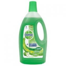 DETTOL 4-In-1 Multi Cleaner - Green Apple 1500ml