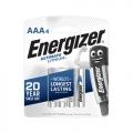ENERGIZER Lithlum Battery AAA, 4's