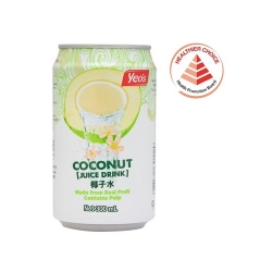 YEO'S Coconut Juice Drink - 300ml x 24 Cans