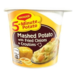 Maggi Instant Mashed Potato - Fried Onions & Croutons