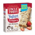 UNCLE TOBY'S - Yoghurt Topps Strawberry 6's