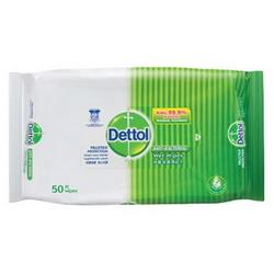DETTOL Anti Bacterial Wet Wipes HPD50 50's