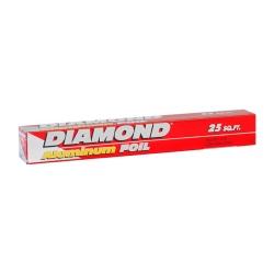 DIAMOND Aluminium Foil 12'' x 25'